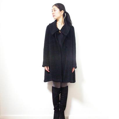 ◆Mサイズ即納◆Garnet[ガーネット] シルクモール・フレアコート / ブラック