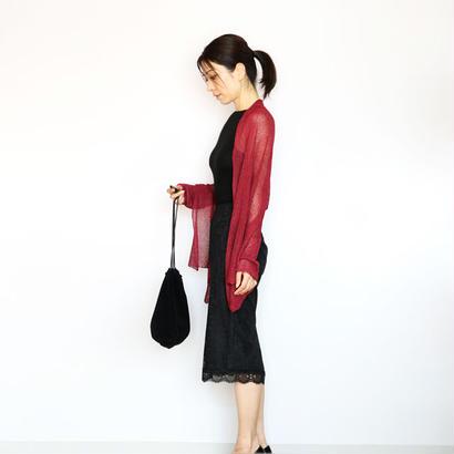 ◆特別価格◆即納◆Rigel[リゲル] 袖付きストール / ディープ・レッド