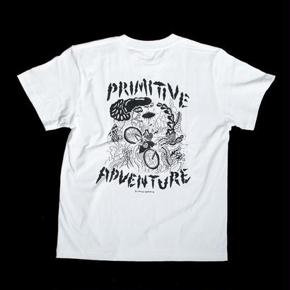 [SimWorks ART COLLECTIVE] Primitive Adventure T-shirt