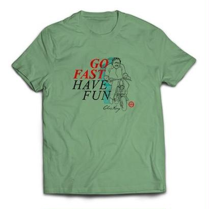 [Chris King] Go Fast, Have Fun T-shirt