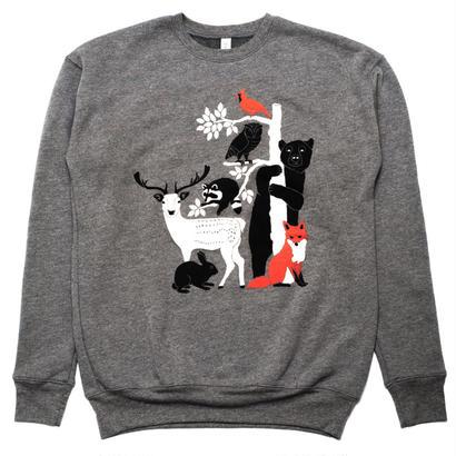 [Gnome Enterprises]  Print Sweat Shirt