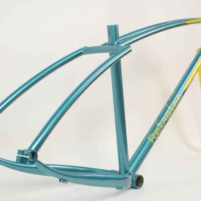 【Retrotec】Twin-Top Fat Bike / Blue & Yellow 420