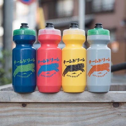 [TeamDream Bicycling Team] Japanese 22oz Chubby Cat Bottle