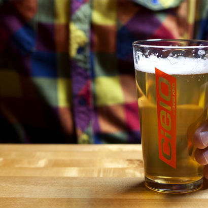 [Chris King] Cielo Racer Pint Glass