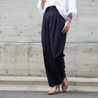 TAPERED HIGHWAIST  PANTS