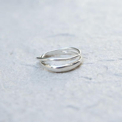 double line silver925 ring