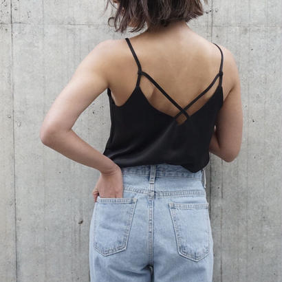 BACK CROSS CAMISOLE