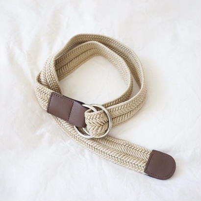 NATURAL BRAID BELT