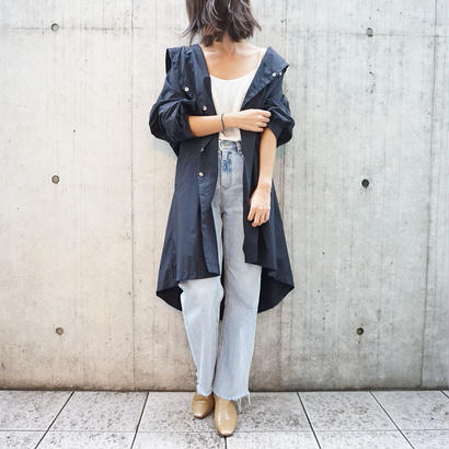 LOOSE NUANCE HOODED BLOUSON