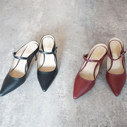 POINTED TOE STRAP PUMPS