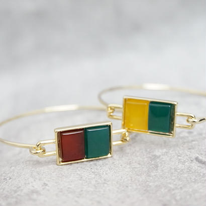 Candy Tile  Bangle