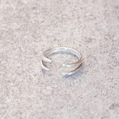 silver desing ring
