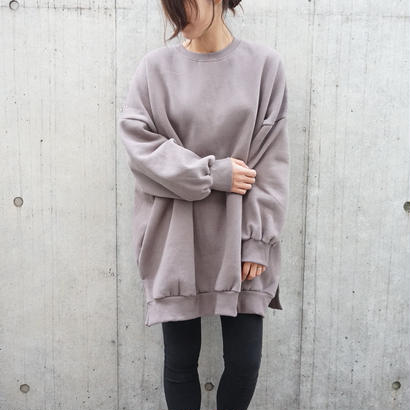 OVER FIT SWEAT ONEPIECE