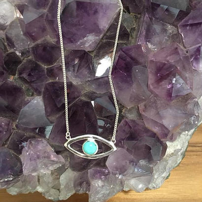 Inner Vision Eye Necklace (Silver or Gold plated)