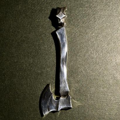 シルバー 斧 ペンダントトップ