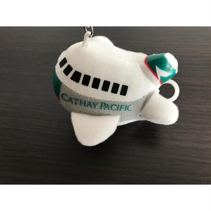 【香港☆國泰繽紛集】ブルブルします!趣緻飛機鎖匙扣  / Chubby Aircraft Keyring