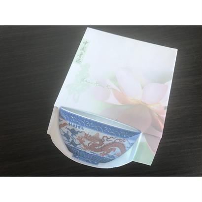 【香港☆Tableware Memo Pad】Chinese Rice Bowl / メモパッド