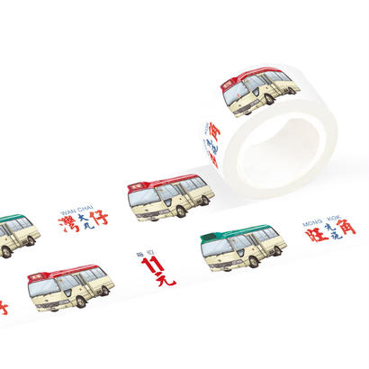 Minibus Multi Colour☆小巴【Hong Kong Transportation】