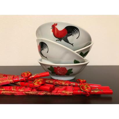 【香港☆ 雞 食器】 特小公雞碗 /  取り皿として