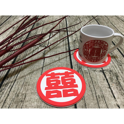 【香港☆Guesta】Asian Coaster  / 囍