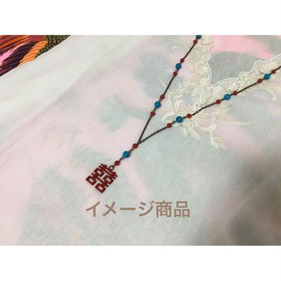 【香港☆囍】<Revised>☆おすすめ☆ Double Happiness ネックレス /  2種類