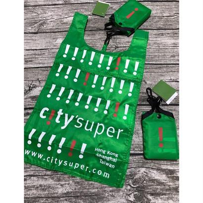 【香港☆city super】環保袋・ECO BAG / 基本の緑色