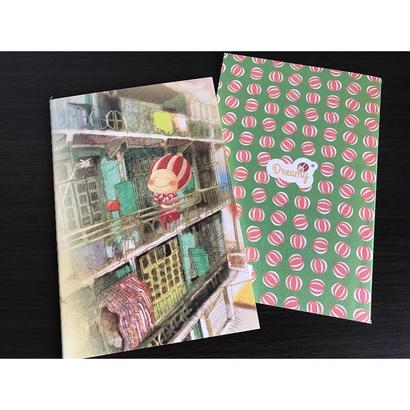 【香港☆Dreamy】西瓜坊やのA5ノート / 4デザイン