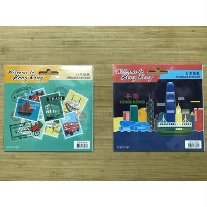 【香港☆Passage】行李貼紙 / LUGGAGE STICKER 2種類