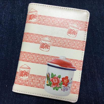 【香港☆Ideal Creative】ポット柄・护照入れ /  Passport Holder
