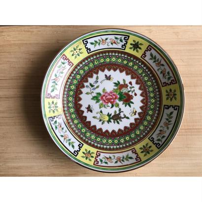 【香港☆中国景徳鎮】牡丹・蝶・鳥柄 食卓にスパイスを / 七寸深皿