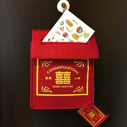 【香港☆SWEET MATCHES】Letter rack・状差し  / 囍字・婚宴飾品