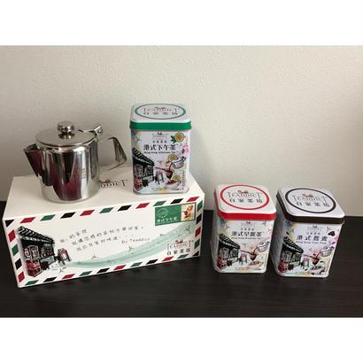 【香港☆Teaddict】自家茶坊 ・單罐裝 / 茶葉3種類から選択