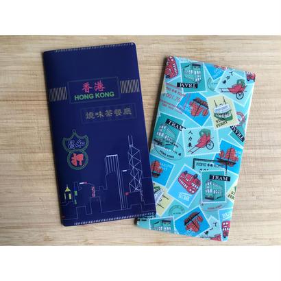 【香港☆Passage】TRAVEL FOLDER / 香港紙物収納にも便利です・2種類