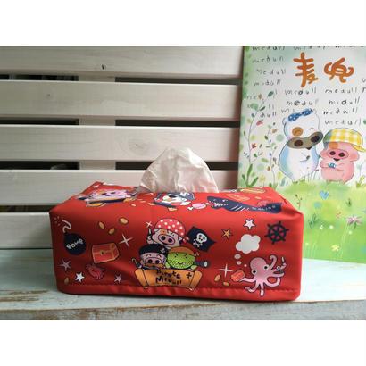 【香港☆マクダル】麥兜麥嘜紙巾盒套(海盗)  /  Tissue Cover・Mcdull