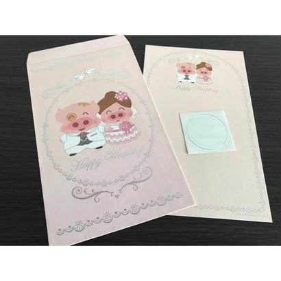 【香港☆Mc Dull 】Happy Wedding  /  麥兜 ご祝儀袋
