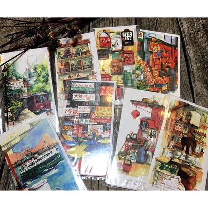 🉐SALE【香港☆Loretteさん】ANY occasion グリーティングカード  9種類