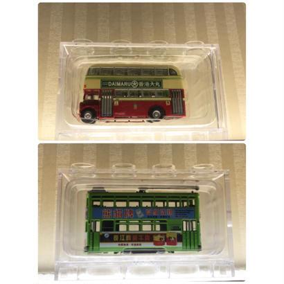 【香港☆巴士・叮叮】KMB Daimler AとHong Kong Tram / 熱狗巴士と叮叮電車
