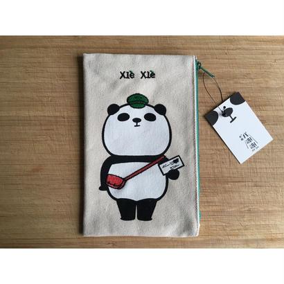 【香港☆Jean Cultural】Xie Xie PANDA PENCASE / 郵差熊猫筆袋