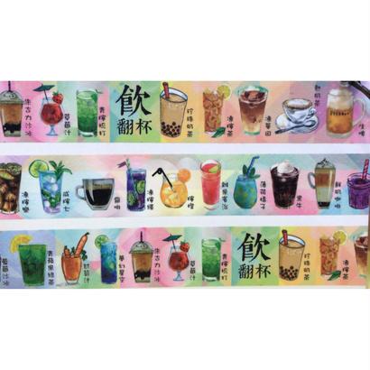 HK beverage☆飲翻杯【其一文創 / 香港設計】 マスキングテープ5725