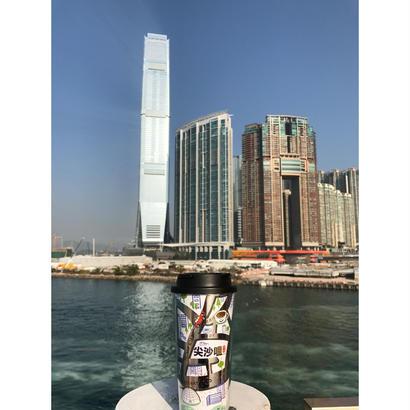 【香港☆HANDSCRIPT】Life in 尖沙咀   / キュートなCoffee Tumbler