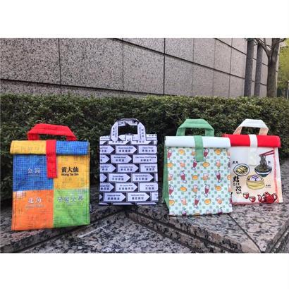 <予約販売>【香港☆特色香港】巻型保温保冷便當袋4柄  /   ROLLTOP LUNCH BAG