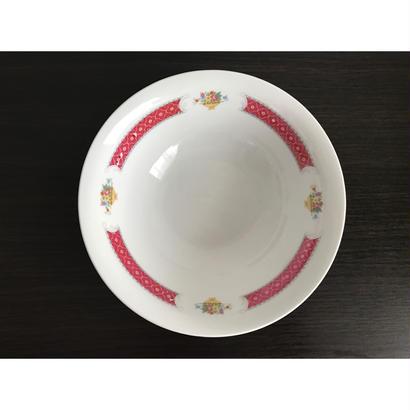 【香港☆中国制造】紅梅ボウル   /  使い勝手の良い大きさです