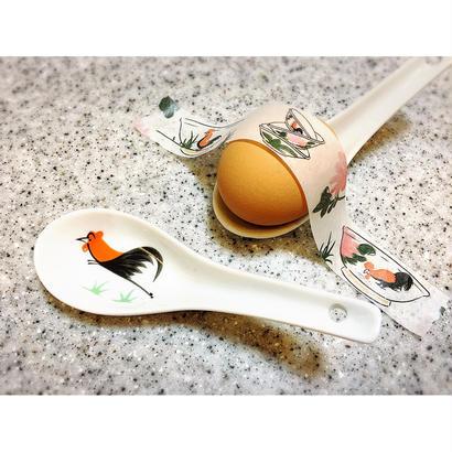 【香港☆ 雞 食器】 レンゲ /  2pcs=1set