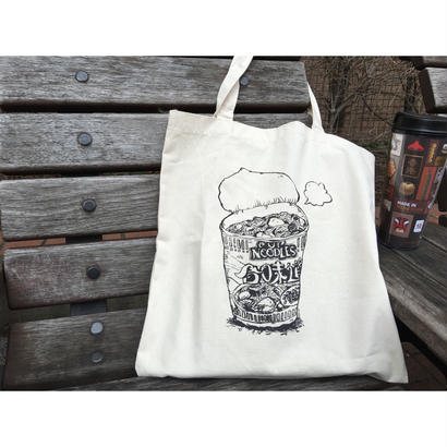 【香港☆NISSIN帆布袋】「合味道・CUP NOODLES」 / TOTE BAG・日清食品