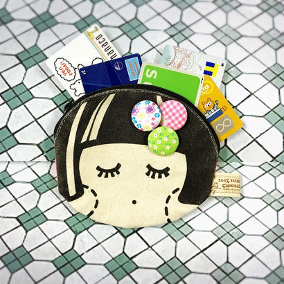 【香港☆Chocolate Rain】 Fatinaのお財布・ポーチ / Face