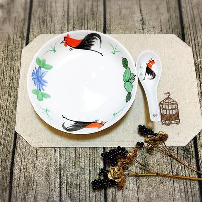 【香港☆ 雞 食器】  皿(大) /  他にも サイズいろいろあります