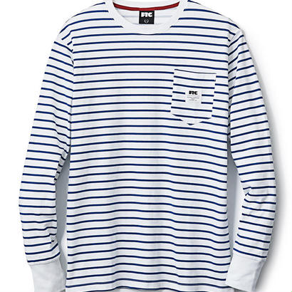 【FTC】STRIPED L/S TEE