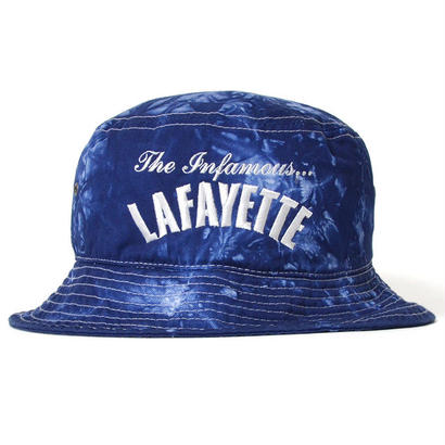 【LAFAYETTE】INFAMOUS TIE DYE BUCKET HAT  BLUE