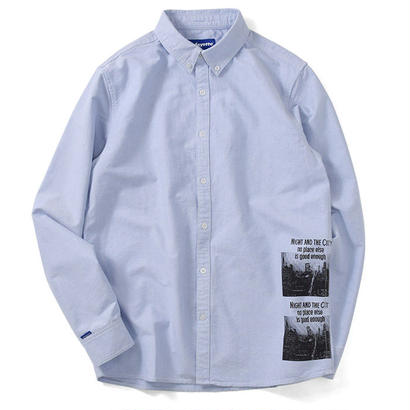 【LAFAYETTE】NIGHT AND THE CITY BUTTON DOWN OXFORD SHIRT