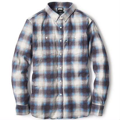 【FTC】OMBRE PLAID NEL B.D SHIRT